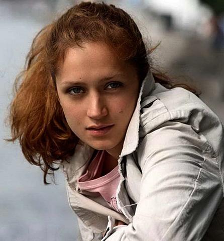 Виктория Исакова в молодости