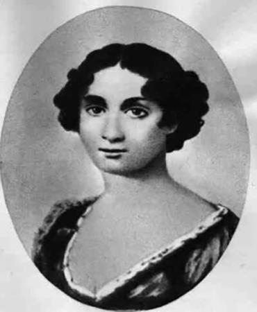 Варвара Петровна в молодости