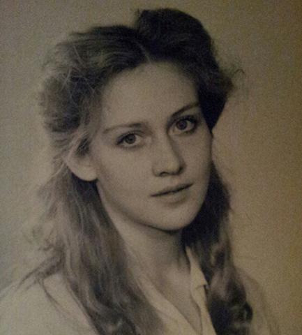 Юлия Ауг в молодости