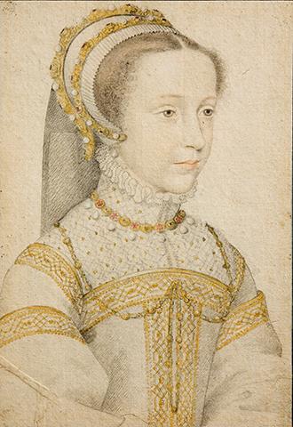 Мария Стюарт в юности