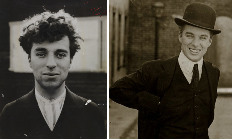 Чарли Чаплин в годы молодости