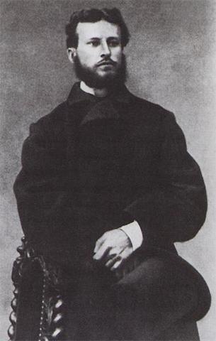 Василий Верещагин в молодости