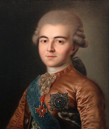 Алексей Разумовский (портрет в молодости)