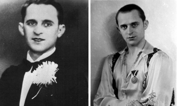 Петр Лещенко в молодости