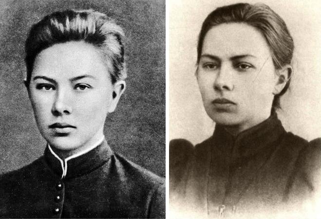 Надежда Крупская в молодости