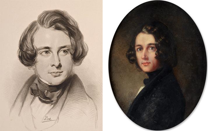 Чарльз Диккенс в 1842 и 1843 г.