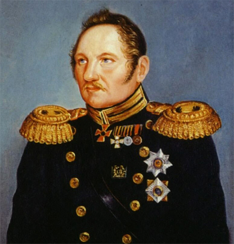 Адмирал Фаддей Беллинсгаузен