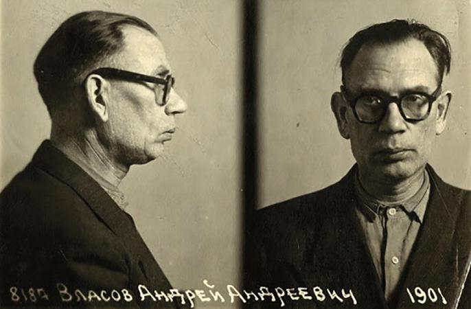 Андрей Власов в аресте