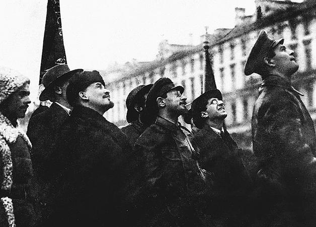 Свердлов, Ленин и Аванесов (1918)