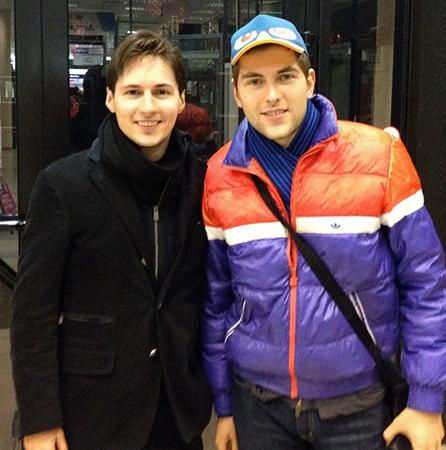 Дмитрий Борисов и Павел Дуров (2020)