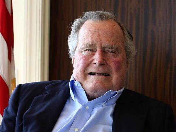 Джордж Буш — старший в старости