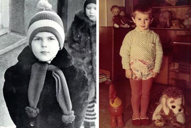 Дмитрий Борисов в детстве