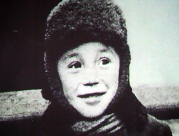 Юлий Ким в детстве