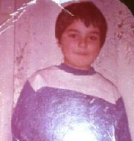 Мурат Тхагалегов в детстве