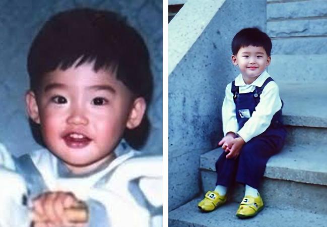 Ли Чон Сок в детстве