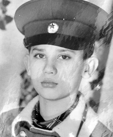 Андрей Трубников в детстве
