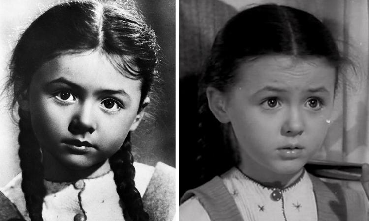 Наталья Селезнева в детстве