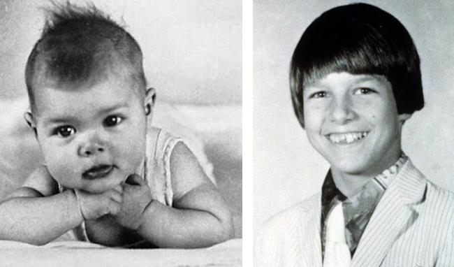 Том Круз в детстве