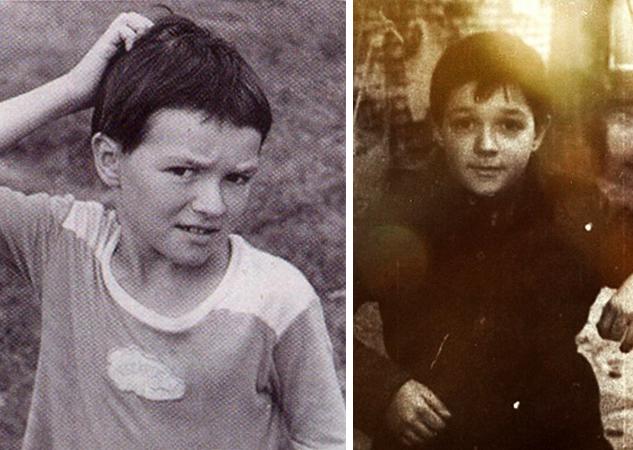 Егор Бероев в детстве