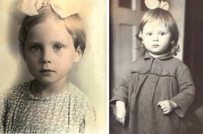 Светлана Копылова в детстве
