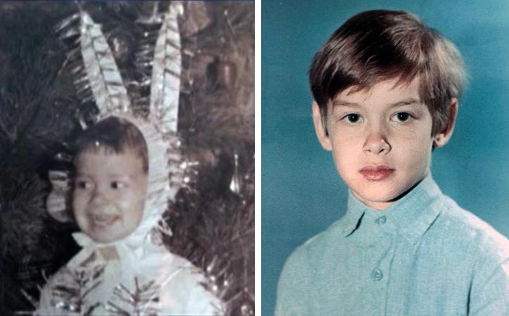 Евгений Кошевой в детстве