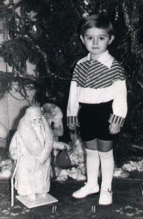 Роман Билык в детстве