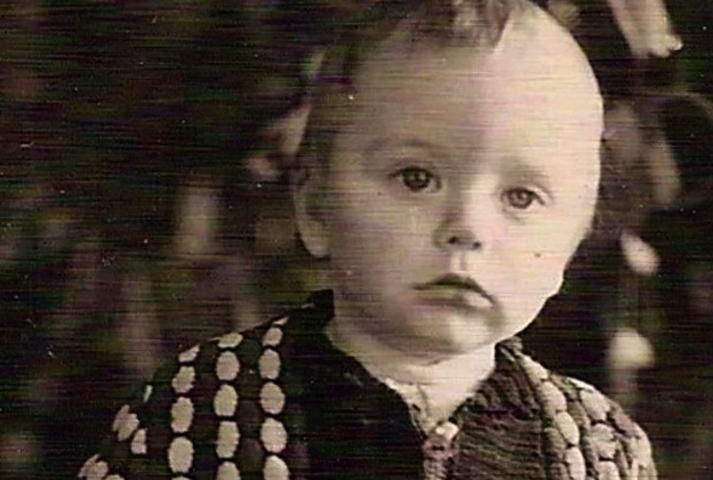 Дмитрий Крылов в детстве