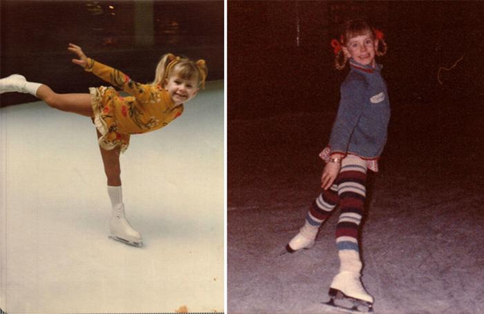 Тоня Хардинг в детстве