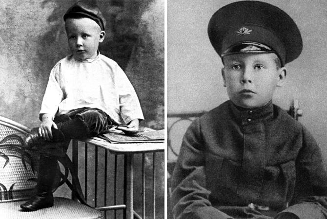 Николай Заболоцкий в детстве