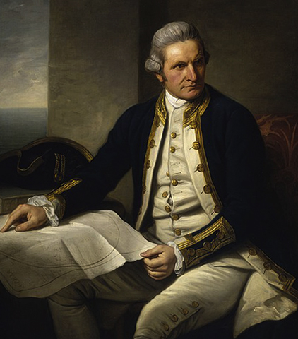Джеймс Кук (портрет 1775 г.)