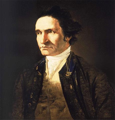Портрет Джеймса Кука работы Уильяма Ходжеса, сопровождавшего Кука в его втором путешествии