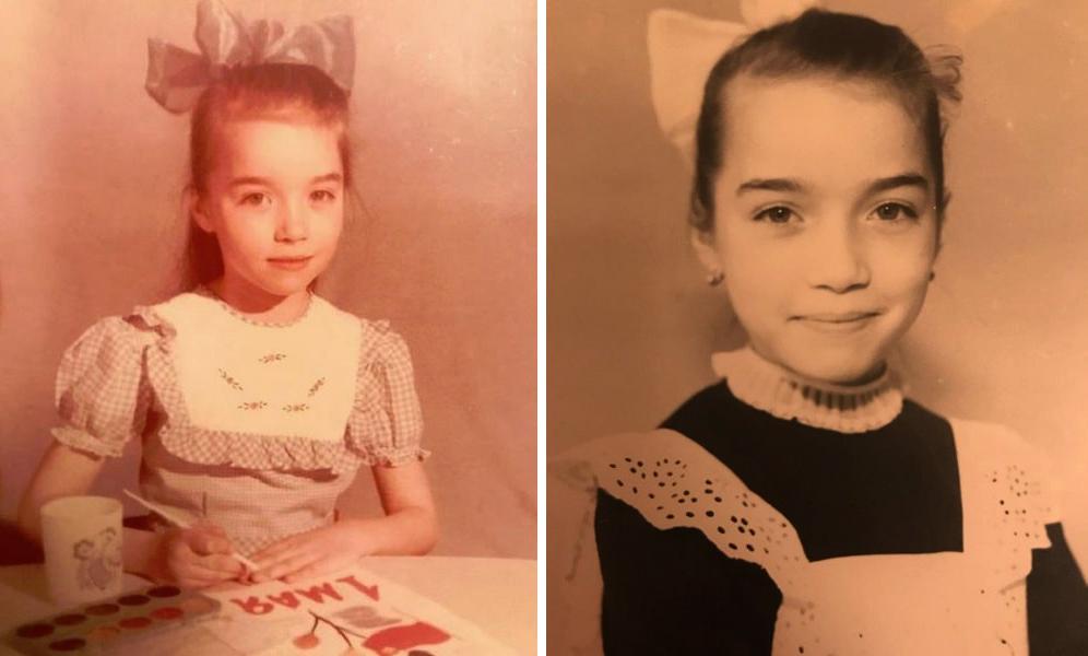 Анастасия Гулимова в детстве