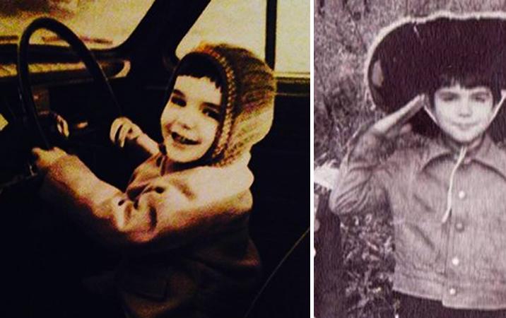 Александр Никитин в детстве