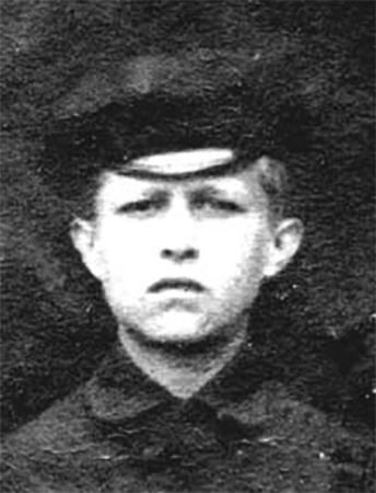 Борис Мокроусов в детстве