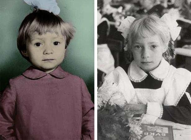 Светлана Пермякова в детстве