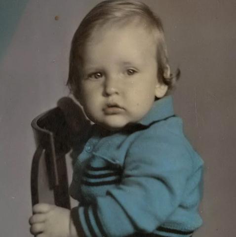 Александр Морозов в детстве