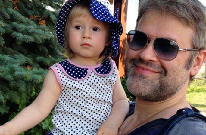 С дочерью Дианой
