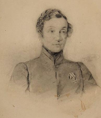 Надежда Дурова (портрет 1837 г.)