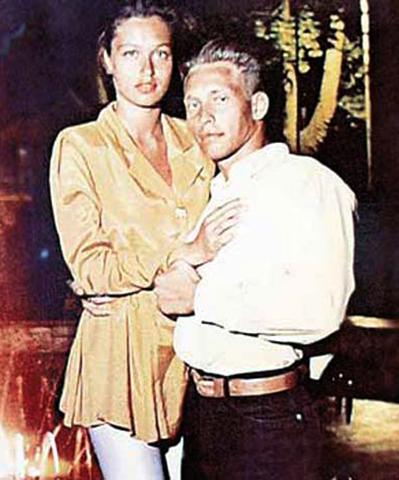 С первой женой Еленой