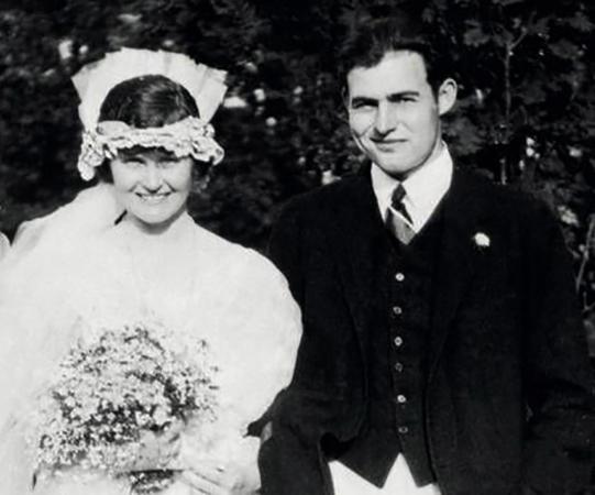 С первой женой Элизабет Хэдли Ричардсон
