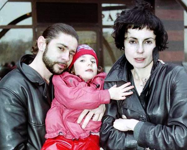 С первым мужем Валерием и дочерью Дарьей