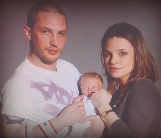 С Рейчел Спид и сыном Луи