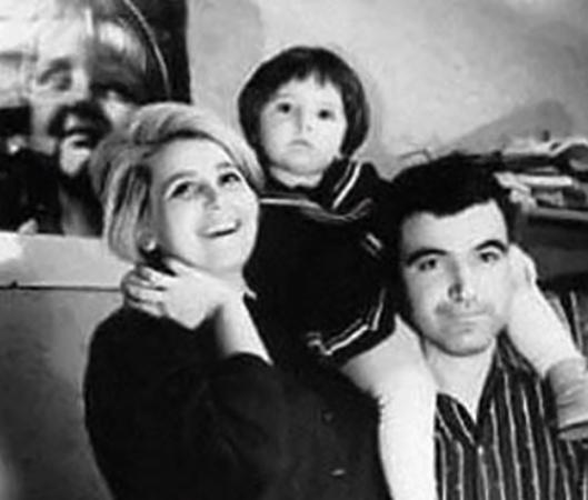 Со второй женой Инной и дочерью Дарьей