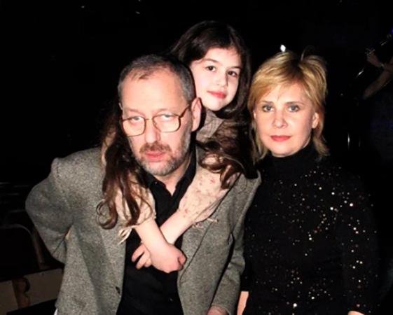 С мужем Михаилом и дочерью Екатериной