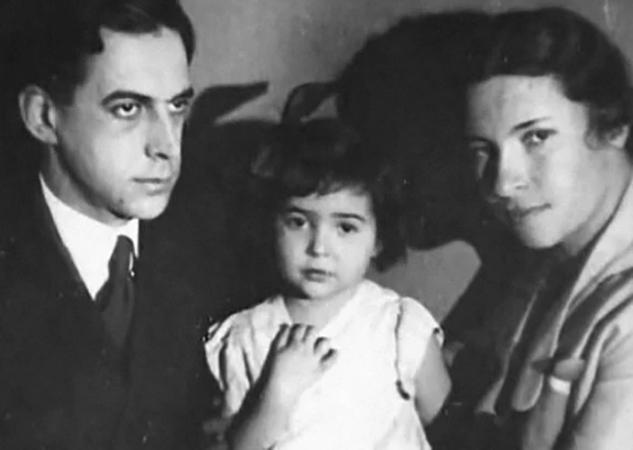 С мужем Андреем и дочерью Татьяной