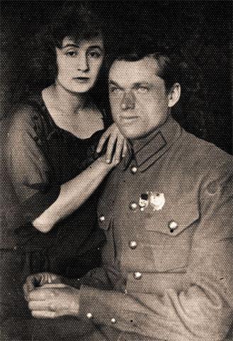 Константин Рокоссовский и Юлия Бармина