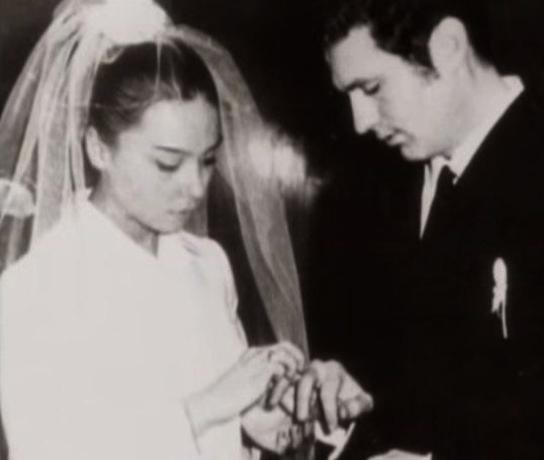 С женой Галиной в молодости
