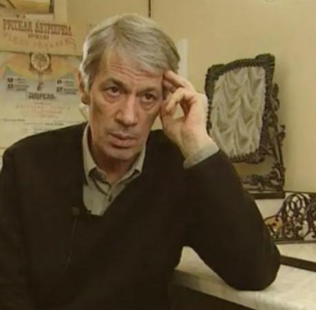 Александр Хочинский в старости