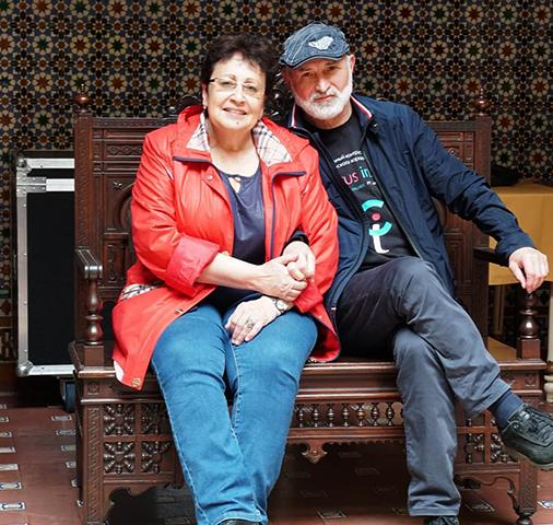 С мужем Борисом