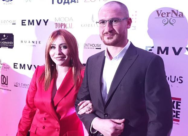 Анастасия Спиридонова с мужем